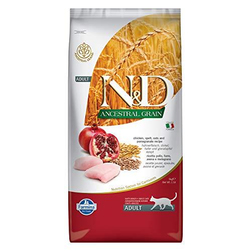 Farmina - Farmina N&D Pollo y Granada Adult Cat Low Grain - 1079-5 Kg.