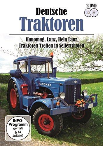 Deutsche Traktoren - Hanomag, Lanz, Hela Lanz - Traktorentreffen in Seifertshofen [2 DVDs]