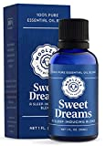 Woolzies Sweet Dreams Essential Oil Blend | Helps Sleep Better Faster Restful | Undiluted Therapeutic Grade (Sweet Dreams, 1 Oz)