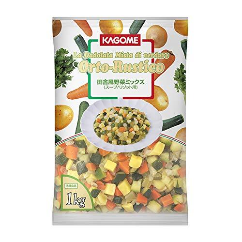カゴメ 田舎風野菜ミックス 1kg 冷凍