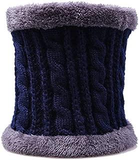 shefeet Neck Scarf scarfKnit neck warm scarf Winter Warm Collar Knitted Neck Scarf Shawl Soft Unisex Women Men Solid Color Wool Plus Velvet Scarf Winter Scarves