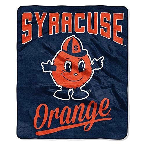The Northwest Company Syracuse Orange Officially Licensed NCAA Alumni 50' x 60' Raschel Throw