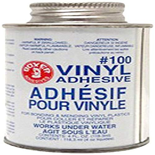 Union Laboratories 104 Boxer Vinyl Adhesive for Swimming Pools, 4 oz.