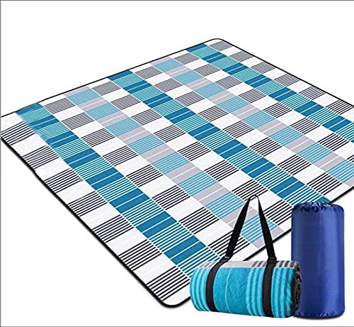 Camping Matte, Folding Picknick Camping Matte Outdoor Beach Picknick wasserdichte Schlafende Camping Pad Matte FeuchteProof Plaiddecke (Size : 150 * 200CM)