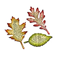 Sizzix, Tattered Leaves Bigz Die , Tim Holtz