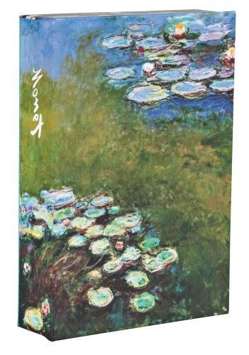 Monet FlipTop Notecards with Magnetic Closure, museum quality greeting cards for all occasions