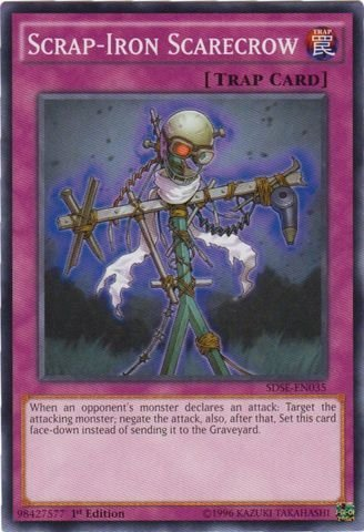 YU-GI-OH! - Scrap-Iron Scarecrow (SDSE-EN035) - Structure Deck: Synchron Extreme - 1st Edition - Common