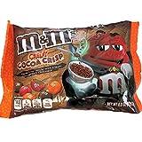 M&M's Creepy Cocoa Crisp Dark Chocolate Candy, 8oz Bag