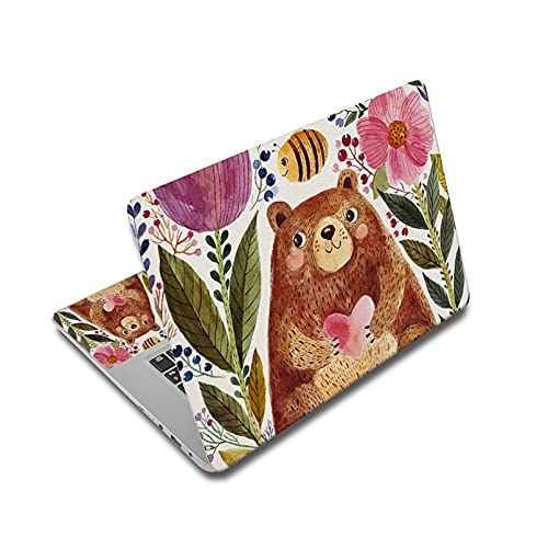 BIJIHUA Laptop Skin Sticker Decal Laptop Stickers for 15Inch Notebook Sticker 12' 14' 17' 15.6' Pc Skin for Xiaomi Mi Pro 13.3/Asus/MacBook Pro 13/Acer/Hp/Lenovo