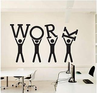 Qinyubing Travail Word Sticker Bureau Équipe D'Affaires Travailleur Motivation Décoration D'Intérieur Décoration De Bureau...