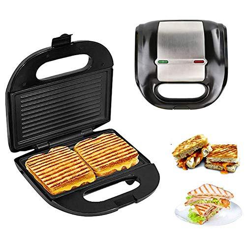Sandwich Broodrooster, Zelfgemaakte Roestvrijstalen Late Night Grill Oven Ontbijt Broodrooster, Makkelijk Schoon Te Maken Antiaanbakplaat