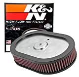 K&N Engine Air Filter: High Performance, Premium, Powersport Air Filter: Fits 2009-2017 HARLEY DAVIDSON (Fat Bob, Dyna Low Rider, Wide Glide, Switchback, CVO Limited, and other select models) HD-0910