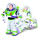 Toy Story 4 Disney Pixar Buzz Lightyear with Interactive Drop-Down Action