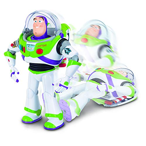 Toy Story 4 Buzz Lightyear With Interactive Drop Down Action From Disney Pixar