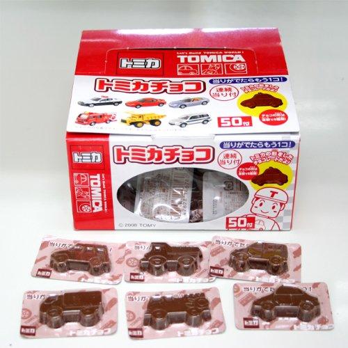 トミカチョコ 50付【駄菓子】
