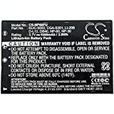 Cameron Sino 3.7V/1050mA Replacement Battery for Kodak EasyShare Z730,EasyShare Z7590,EasyShare Z760,LS420,LS443,LS633,LS743,LS753,P712,P850,P880,Z730,Z7590,Z760 Battery