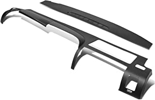 2Pcs Front Upper Dash Board Panel Cover Cap Overlay for Chevy Silverado LS LT WT GMC Sierra SL SLE 07-13