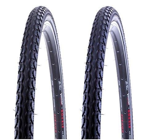 2 x Fahrradreifen Kenda 28 Zoll 28x1.50 40-622 700x38C mit Reflexstreifen inklusive 2 x 28 Schlauch mit Dunlopventil OPS