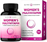 Women's Daily Multivitamin Supplement - Vegan Capsules with Biotin, Vitamins A B C D E K, Calcium, Zinc, Lutein, Magnesium - Premium Multimineral Multivitamin for Women