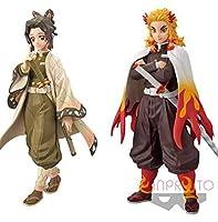 2個セット 鬼滅の刃 フィギュア 絆ノ装 拾ノ型 胡蝶しのぶ 煉獄杏寿郎