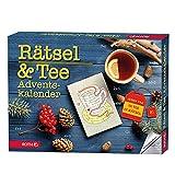 ROTH Rätsel + Tee-Adventskalender 2020 gefüllt mit hochwertigem Tee und Rätseln, Krimi +...