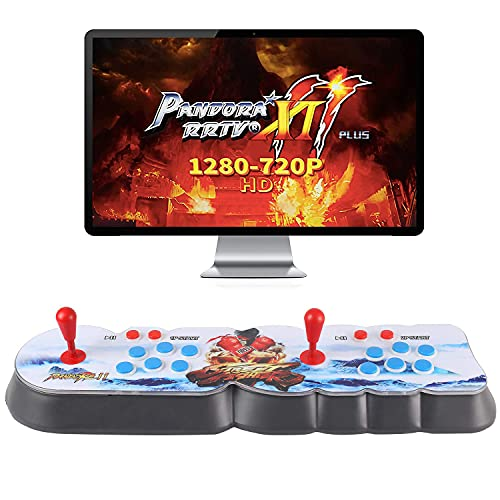 Best brose Pandora's Box 11 Multiplayer Games Console Portable Games,2706 Retro Classic Video Games,Newest System with Advanced CPU,with Arcade Joystick Support HDMI VGA Output