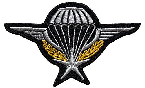 topt mili ecusson Para Parachutiste Legion Beret Vert Legionnaire armée France Francais 8x5cm Legion thermocollant