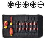 WIHA 41231 - Juego de destornilladores y bits slimVario® 2831T18 slimVario Starter Set Ref. 2831T18