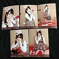 中元日芽香 2016 valentine web netshop限定 5種 5枚 乃木坂46 コンプ 生写真 個別生写真 バレンタイン