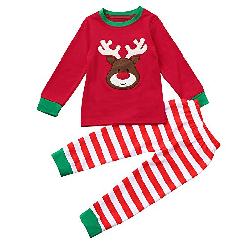 Fossen Disfraz Navidad Niño Pijama Conjunto de Ropa Fossen