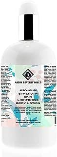asdm beverly hills maximum strength skin bleaching body lotion