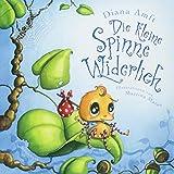 Die kleine Spinne Widerlich: Pappbilderbuch. Band 1 - Diana Amft