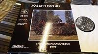 "SARASTRO AUDIOPHILE FRENCH 12"" LP 45 RPM HAYDN PARASKIVESCO PIANO"