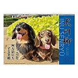 2022年 ダックス川柳 カレンダー 1000120046 vol.003