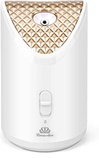 Facial Steamer,Nano Ionic Warm Mist Face Steamer Hot Mist Moisturizing Cleansing Blackheads Acne Removal