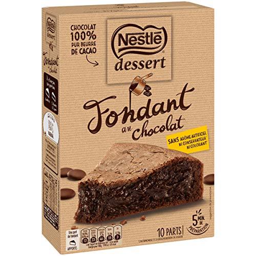 Nestlé Dessert Préparation pour Gâteau - Fondant au Chocolat 317g