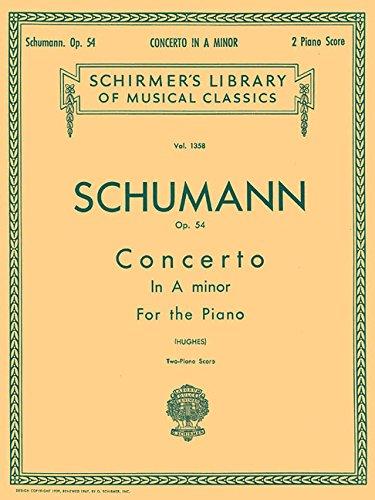 CONCERTO IN A MINOR OP54 2 PIANO SCORE