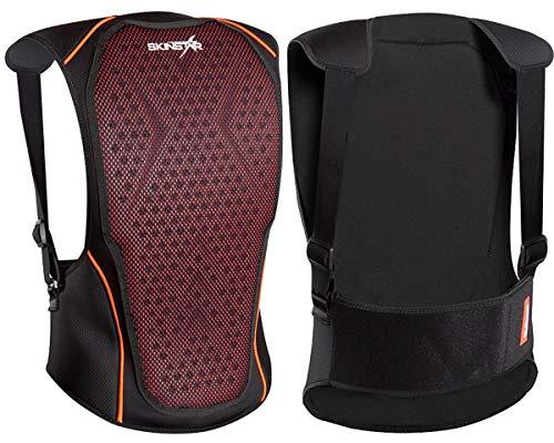 SkinStar Kinder Rückenprotektor Cross Pack Vest Protector Ski Snowboard Sicherheitsweste Rückenschutz