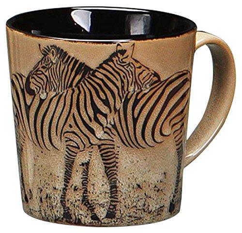 Zebra Hugging Mug