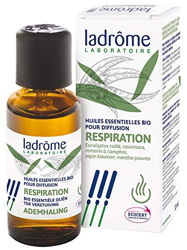 Ladrôme Huiles Essentielles Bio Pour Diffusion Respiration 10 ml