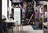 Komar 'Star Wars Darth Vader Collage, 368x 254cm, 8Piezas