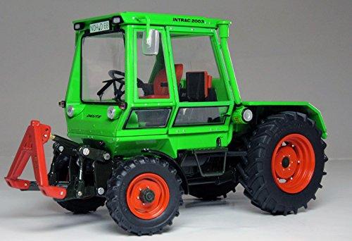 Weise-Toys 1052 Intrac 2003 A, Deutz-Grün 74-Modell Traktor-Maßstab 1/32, Mehrfarbig