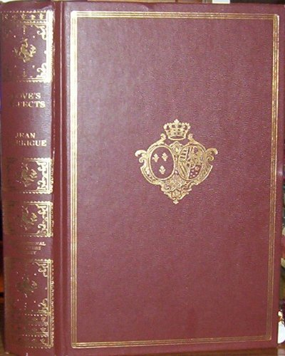 International Collectors Library Love's Aspects by Jean Garrigue (The World,s Great Love Poems)