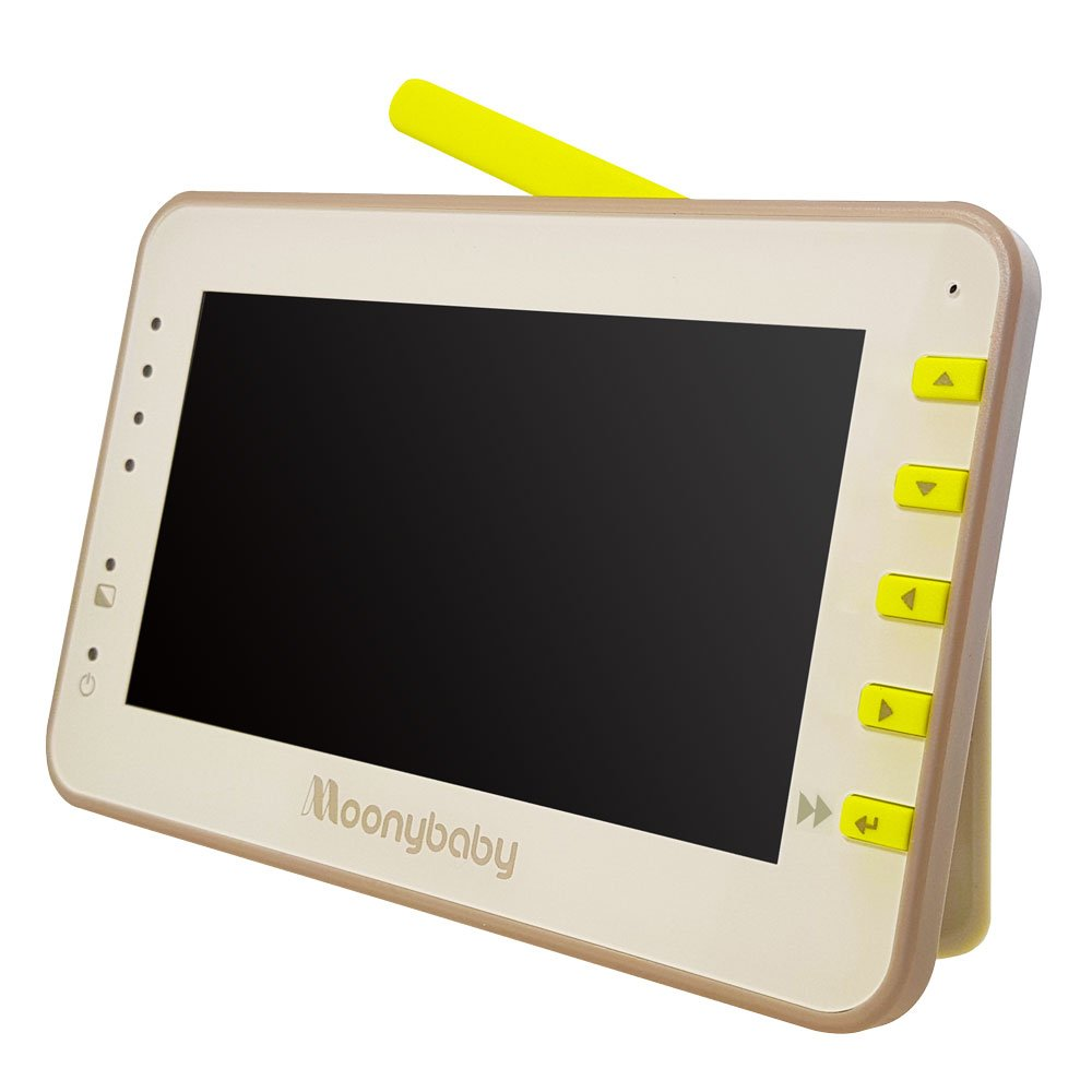 Moonybaby Replacement Monitor for MB55810 and MB55810-2T. 4.3 Inches Split Screen Monitor Unit