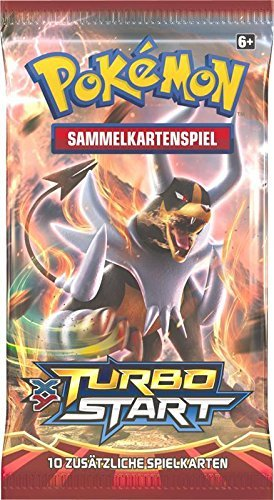 Pokemon XY08 Turbostart Booster