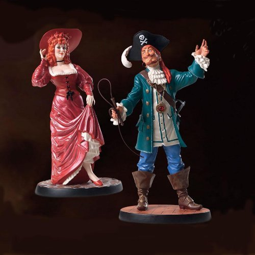 WDCC Disney Pirates of the Caribbean Auctioneer and Redhead We Wants the Redhead by Walt Disney Classics Collection