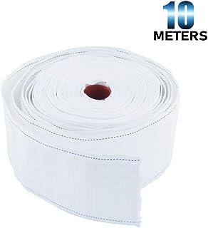 CABLE de 10 m x 6 mm plata cinta del cable cinta decorativa cinta banda plateada 1m = 0,60 €