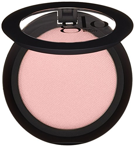 Glo Skin Beauty Powder Blush in Flowerchild - Matte Fresh Cool Pink - 9 Shades - Cruelty Free, Talc Free Mineral Makeup