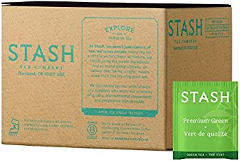 100-Count Stash Tea Premium Green Tea Bags in Foil