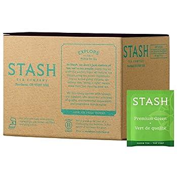 Stash Tea Premium Green Tea Box of 100 Tea Bags